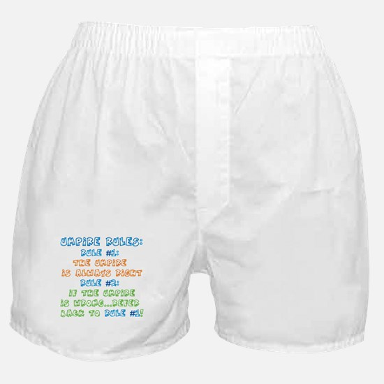Umpire Rules Boxer Shorts