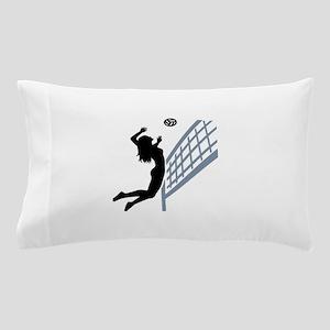 Beachvolleyball girl Pillow Case