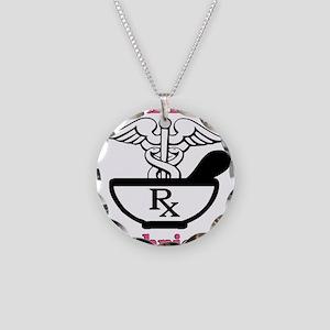 P tec2 Necklace Circle Charm