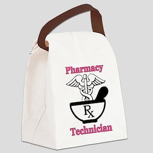 P tec2 Canvas Lunch Bag