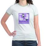 Wild Violet Ringer T-shirt