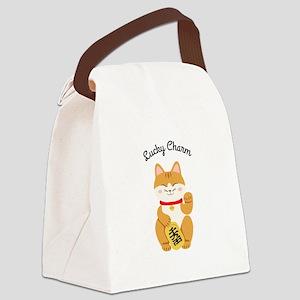 Lucky Charm Canvas Lunch Bag