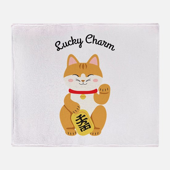 Lucky Charm Throw Blanket