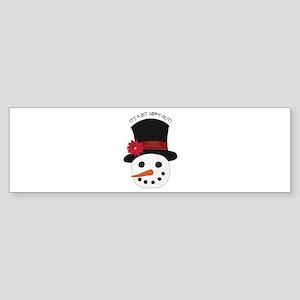Its a Bit Nippy Out Bumper Sticker