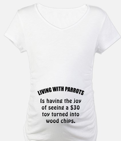 Living With Parrots Shirt