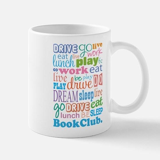 Eat Sleep Book Club Mug