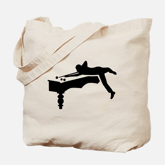 Billiards player Tote Bag