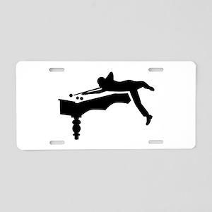 Billiards player Aluminum License Plate