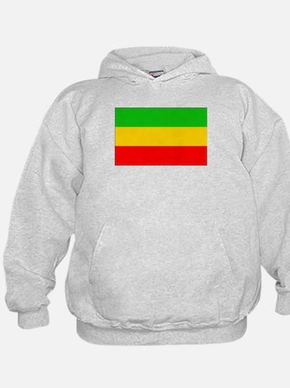 Ethiopia Flag Hoodie