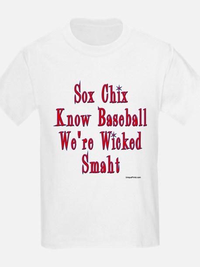 Sox Chix Know Baseball T-Shirt