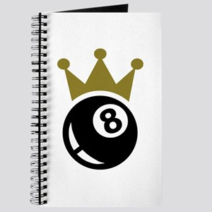 Eight ball billiards crown Journal