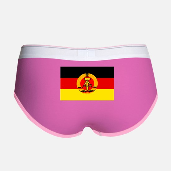 East Germany Flag Women's Boy Brief