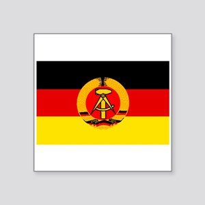 East Germany Flag Sticker