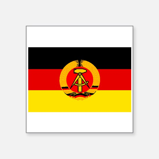 East Germany Flag Sticker