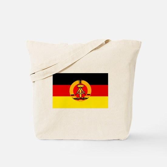East Germany Flag Tote Bag