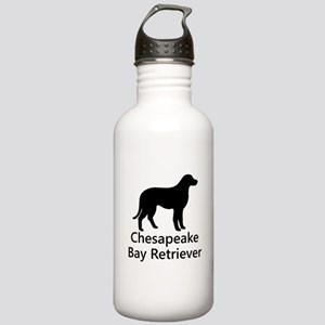 Chesapeake Bay Retriever Silhouette Water Bottle
