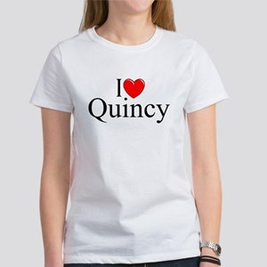 """I Love Quincy"" Women's T-Shirt"