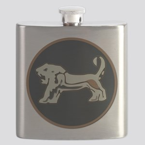 Israel - Central Command Enamel No Text Flask