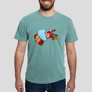 Christmas Post Mens Comfort Colors Shirt