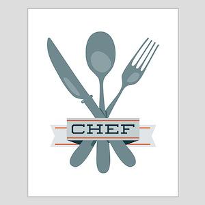 Chef Utensils Posters