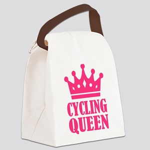 Cycling queen champion Canvas Lunch Bag