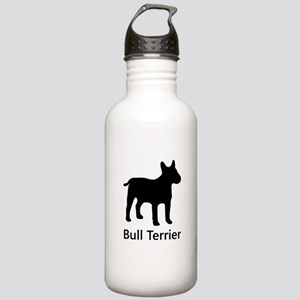 Bull Terrier Silhouette Water Bottle