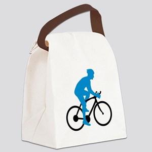 Bicycle Cycling Canvas Lunch Bag