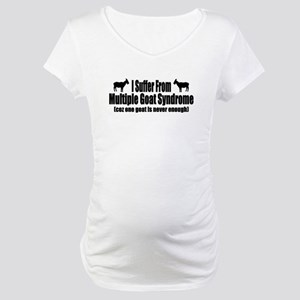 Multiple Goat Syndrome Maternity T-Shirt