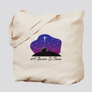 Savior Is Born Tote Bag