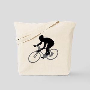 Cycling race Tote Bag