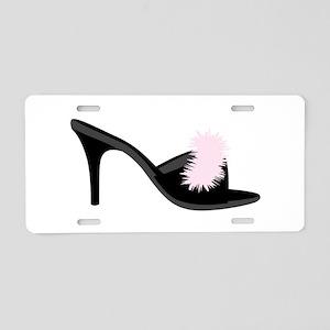 Boudoir Shoe Aluminum License Plate