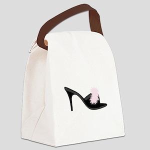 Boudoir Shoe Canvas Lunch Bag