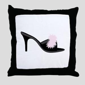 Boudoir Shoe Throw Pillow