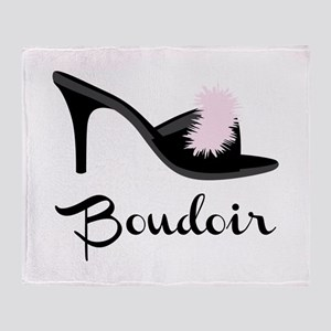 Boudoir Throw Blanket