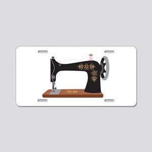 Sewing Machine 1 Aluminum License Plate