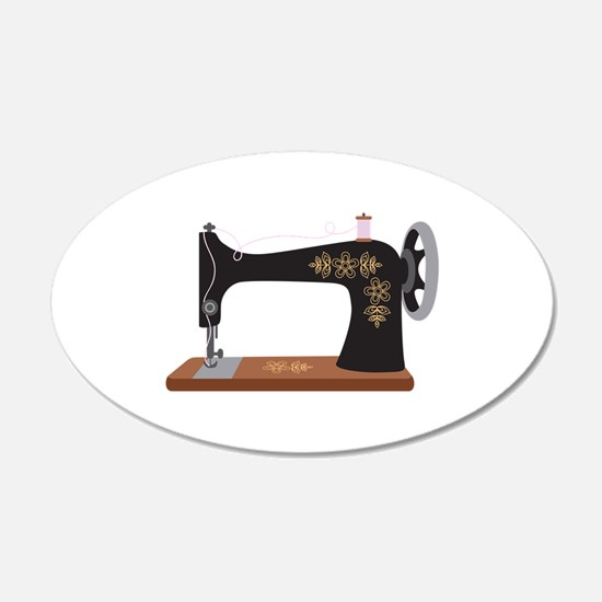 Sewing Machine 1 Wall Decal