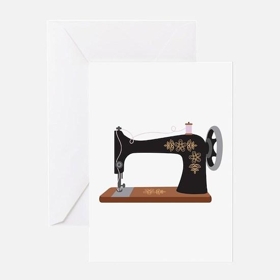 Sewing Machine 1 Greeting Cards