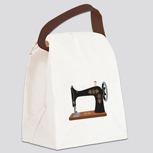 Sewing Machine 1 Canvas Lunch Bag