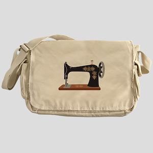 Sewing Machine 1 Messenger Bag