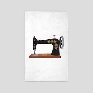 Sewing Machine 1 3'x5' Area Rug