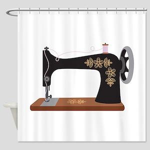 Sewing Machine 1 Shower Curtain