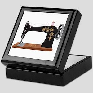 Sewing Machine 1 Keepsake Box