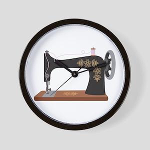 Sewing Machine 1 Wall Clock