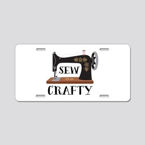 Sew Crafty Aluminum License Plate