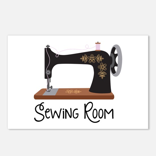 Sewing Room Postcards (Package of 8)