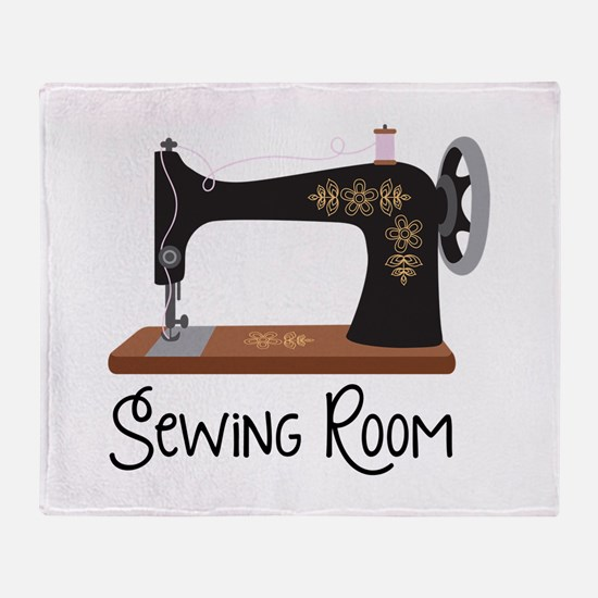 Sewing Room Throw Blanket