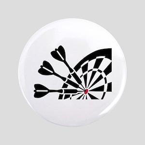 "Darts dartboard 3.5"" Button"