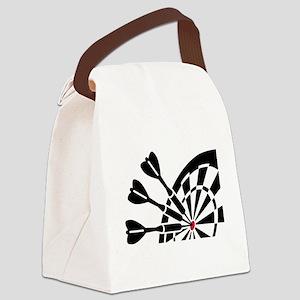 Darts dartboard Canvas Lunch Bag