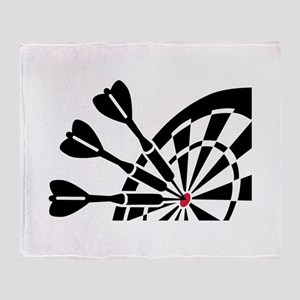 Darts dartboard Throw Blanket