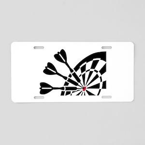 Darts dartboard Aluminum License Plate